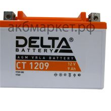 Delta 9Ah CT-1209 (YTX9-BS)